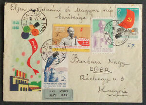 VIETNAM - VIET-NAM 1960: Airmail Ha-Noi – Eger HU