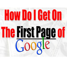 [SEO] Step by Step Method To Be On Google 1st Page In 30 Days! [SEO, Backlinks]