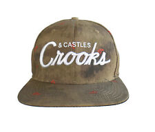 CROOKS & CASTLES Hat Cap   Adjustable Snapback  FREE SHIPPING
