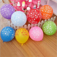 10pcs latex multicolor balloons happy birthday party balloon inflatable decor RG