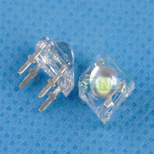50PCS 5mm F5 Piranha LED White Round Head Super Bright Light Emitting Diode M