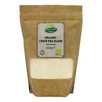 Organic Chick Pea Flour 500g - Gluten Free - Certified Organic