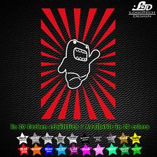 DOMO KUN Action Sticker Adesivo JDM Tuning Styling MANGA ANIME 10cm x 15cm