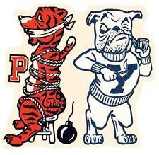YALE  University    Beat Princeton     Vintage Looking   Travel Decal  Sticker