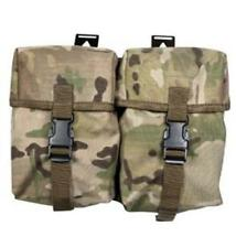 Web-Tex Double Utility Pouch Multicam. Field Gear, Great Britain, Army.