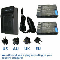 Battery / Charger for Panasonic DMW-BLF19E BLF19 Lumix DMC-GH3 DMC-GH4 DMC-GH5
