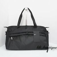 NWT Nike BA5528-010 Radiate Gym Club Training Workout Fitness Duffel Bag Black