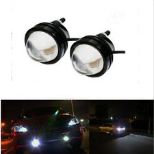 2pcs Xenon White 5W  High Power Bull Eye LED DRL Projector Daytime Fog Light