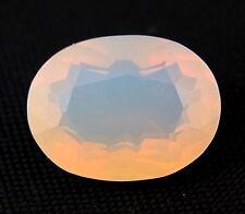 TOP : Echter Weißer Feuer Opal 7,63 Ct VVS Reinheit mit Orange Flash aus Mexiko