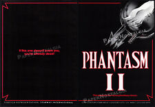 PHANTASM II__Original 1987 Trade print AD / horror promo__DON COSCARELLI__1988_2