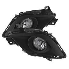 Mazda 6 14-15 Sedan Clear Bumper Fog Lights w/Bulbs+Wire+Switch Full Set