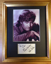FESS PARKER DAVY CROCKET AND DANIEL BOONE SIGNED DISPLAY AUTOGRAPHED  w/COA