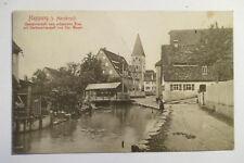 Ansichtskarte Mittelfranken Happurg Hersbruck Gasthaus schwarze Rose 1910