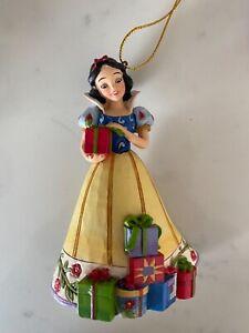 Disney Traditions Jim Shore Snow White Christmas Xmas Tree Ornament
