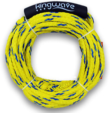 Tube Tow Rope 2 Rider 60ft Float Tubing Water Sports Towable Kingwave