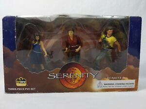 Serenity Firefly Mal River Jayne PVC Set Dark Horse Deluxe Comics DAMAGED BOX