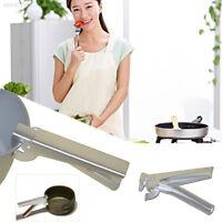 2D00 Cook Pan Plier Aluminum Pot Clamp Barbecue Pan Handle Grabber Pot Plier