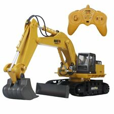 Hugine 15 Channel RC Excavator 2.4G Crawler Full-Function Remote Control Constru