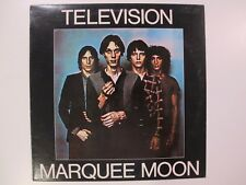 TELEVISION MARQUEE MOON ELEKTRA White Label Promo US Vinyl LP