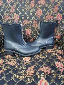 Frye Zip Rain Boots Waterproof Booties Snow Classic Vintage . Size 7M.