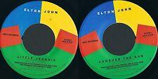 DISCO 45 GIRI     ELTON JOHN - LITTLE JEANNIE // CONQUER THE SUN