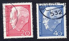 West Germany: Re-election of President Luebke; complete fine used set
