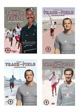 Track and Field 4 DVD Set Throws, Jumps, Sprints,Relay, Distance - Free Shipping