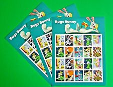 Bugs Bunny Forever Stamps (3 Sheets, 60 Stamps, U.S. Postage)