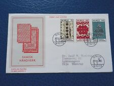First Day Cover. Norway.-9.10.1973. Sami handicraft.