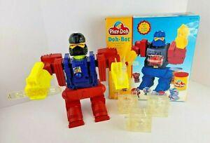 VTG 1996 Playskool Play Doh Robot Factory Doh Bot Playset Molds
