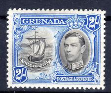 Grenada 2/-  KGVI P12.5 SG 161 Cat £45  1938-50 lmmint [802]
