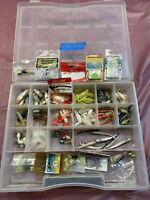 Assorted Jig Head & Box Fishing Lures #56
