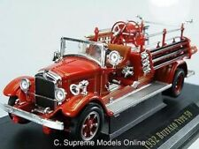 Buffalo Type 50 Fire Engine 1/43RD taille rouge échelle Y. Ming Pack version R 0154 X {:}