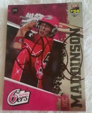 "NIC MADDINSON CRICKET SIGNED IN PERSON Tap n play BBL CARD ""BUY GENUINE"""