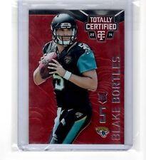 Blake Bortles Jacksonville Jaguars RC Parallel Insert #'d /100 Non-Auto