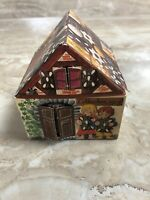 Vintage german candy container Box Hansel And Gretel Paper Empty Pop Up Opens
