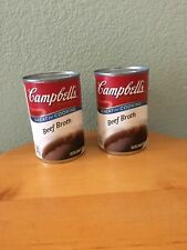 Campbell's Condensed Beef Broth Two 10 1/2 Ounce Cans