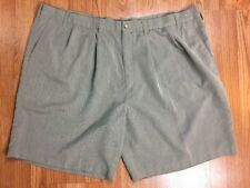 Geoffrey Beene Mens Big Tall Shorts  50 Gray Pockets Lightweight