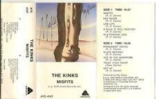 THE KINKS /  MISFITS  (CASSETTE)