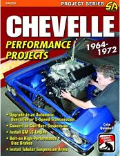 Chevelle Performance Projects 64-72 CHEVY WORKSHOP REPAIR REBUILD MODIFY MANUAL