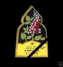 Antique French Perfume Soap Label: Vintage 1940's Lilas Etoile Paris