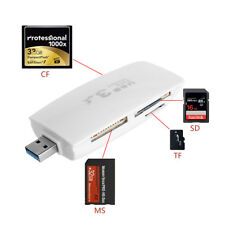 USB 3.0 All in One Multi Memory Card Reader For CF TF SDHC SD MS MicroSD MMC New