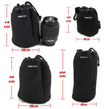 Waterproof Neoprene DSLR Camera Soft Protector Lens Pouch Case Bag Set S+M+L+XL