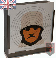 100 Military Figure 14 Sniper Paper Targets 14cm Airsoft Air Rifle (100gsm