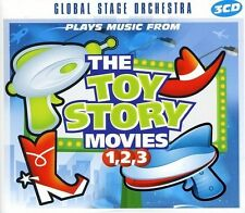 Plays Music from the Toy Story Movies: 1 2 3 - Music