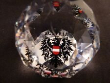 Swarovski Austria Country Austria Paperweight In Box