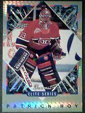PATRICK ROY (MONTREAL CANADIENS) 93/94 ELITE SERIES PRISMATIC FOIL CARD  *SP*
