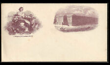 US CW Union Patriotic Magnus Envelope~Weiss #SC-DC-101c