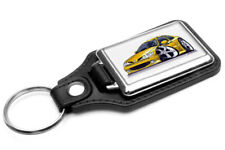 WickedKarz Renault Megane Coupe Yellow Key Ring