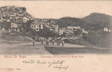 * ROCCA DI PAPA - Panorama con la veduta di Monte Cave
